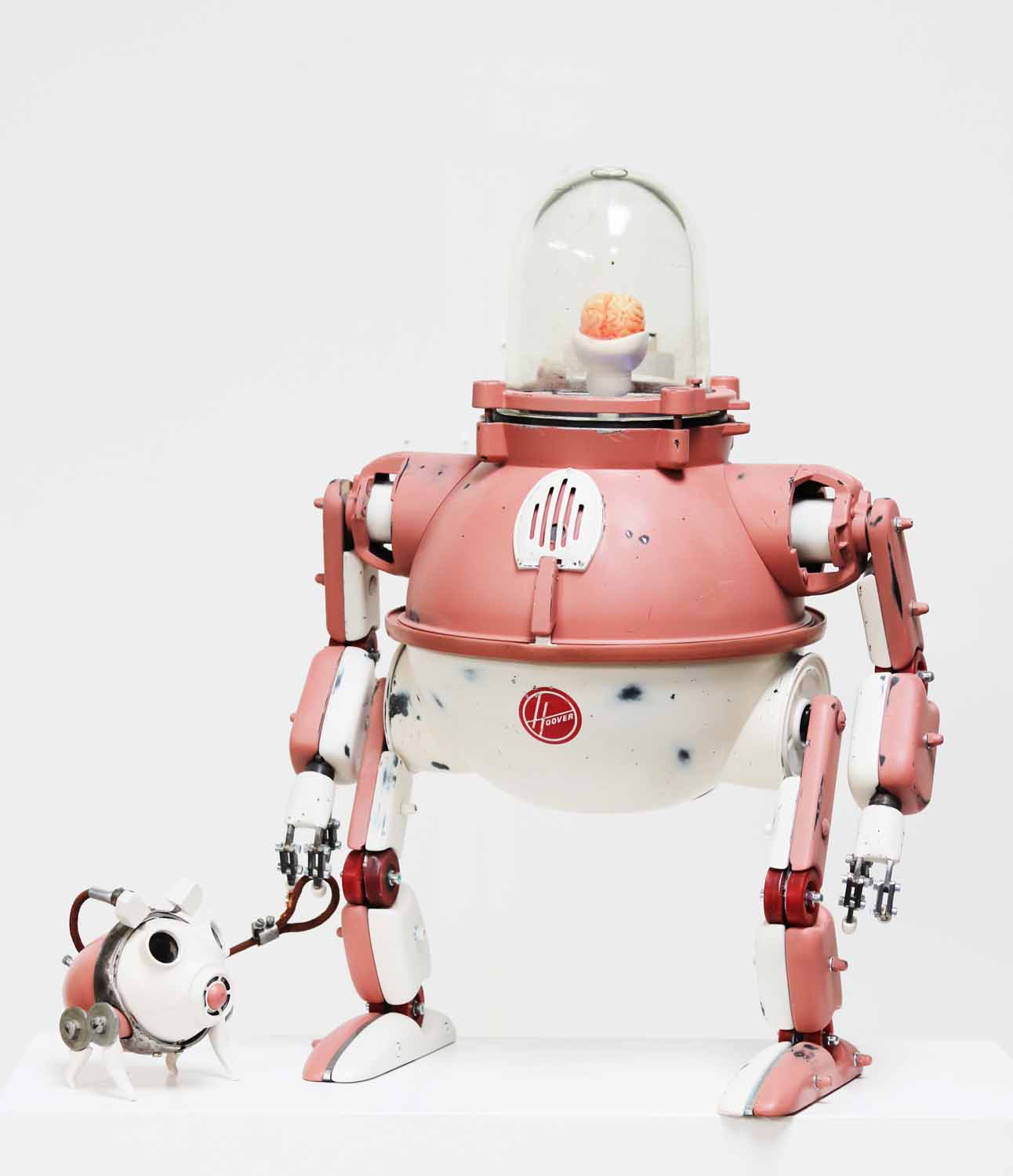 Pink Walking Bot