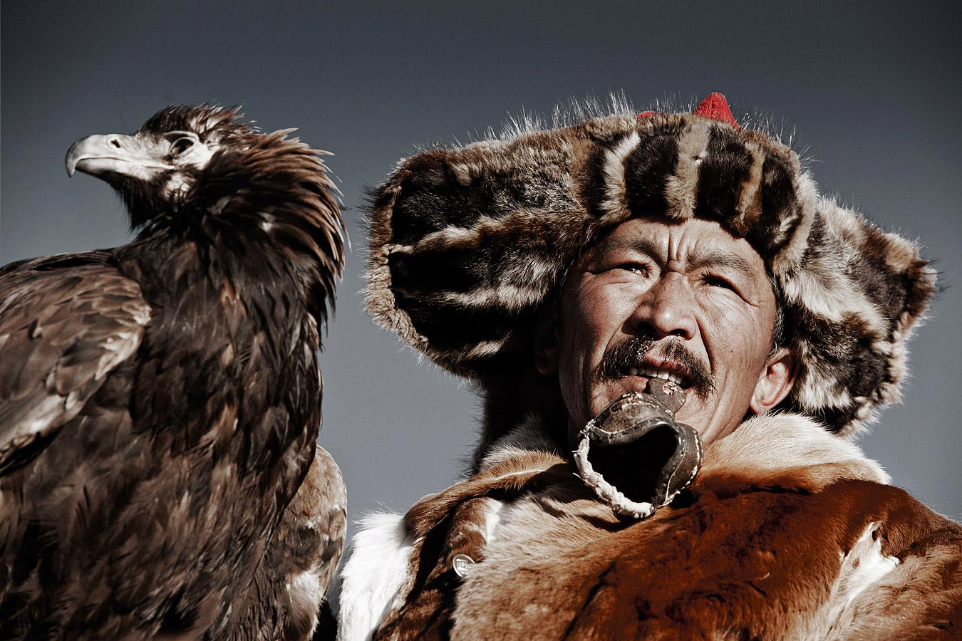 VI 14 Khairatkhan,  the eagle Hunter Mongolia, 2011